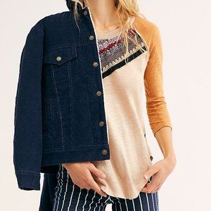 Free People Spring Bound Long Sleeve Large